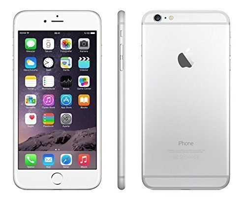 Apple A1522 iPhone 6 Plus, GSM Unlocked, 64GB - Silver (Certified Refurbished)