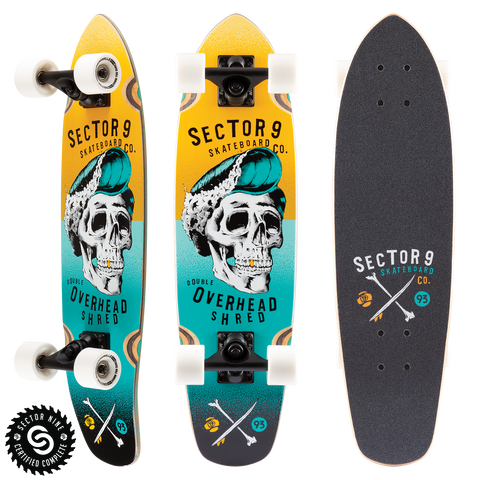 SECTOR 9 HAIR BARREL HOPPER COMPLETE- YELLOW