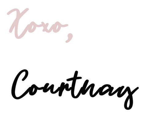 Xoxo, Courtnay