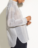 Vince - Pencil Stripe Pullover Tunic, Coastal - Therapy & EG Page
