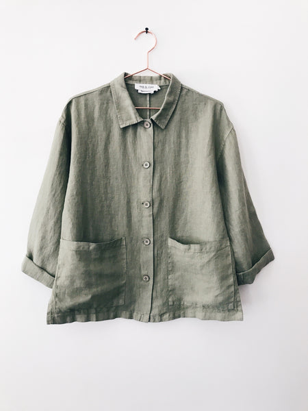 Indi & Cold - Linen Jacket - Therapy & EG Page