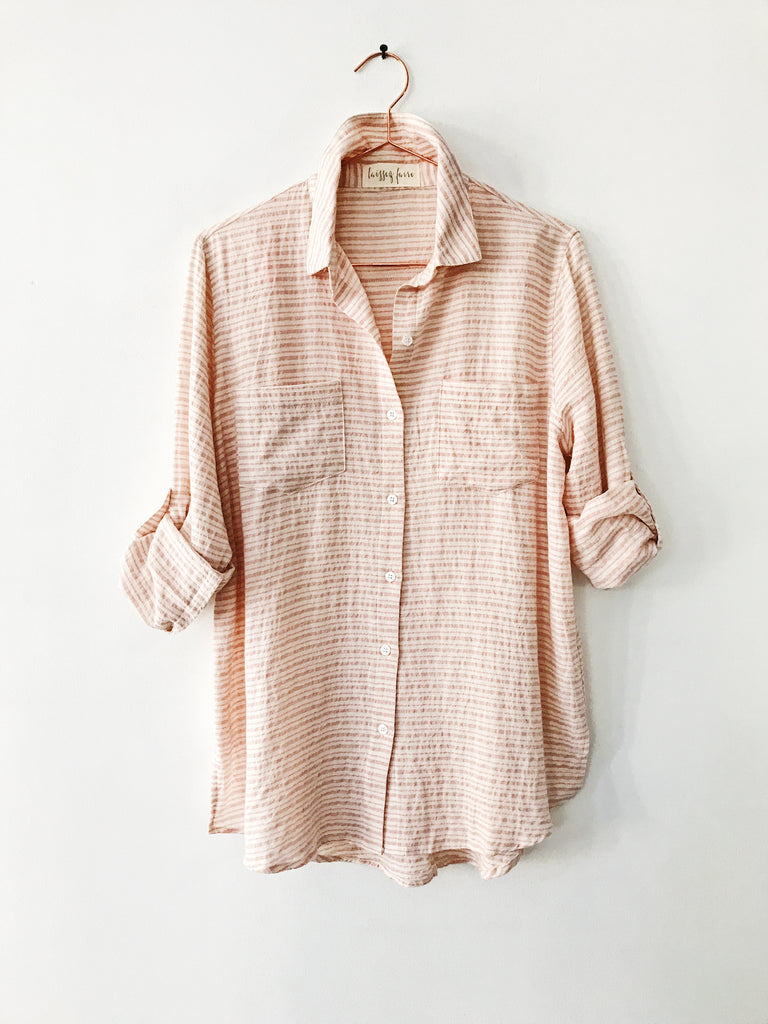 Laissez Faire - Tilda Button Down Stripe Tunic - Therapy & EG Page