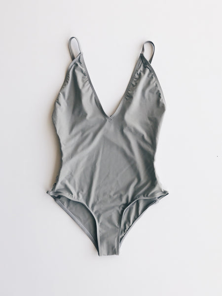 Emerson Grace - Strappy Side One Piece, Stone - Therapy & EG Page