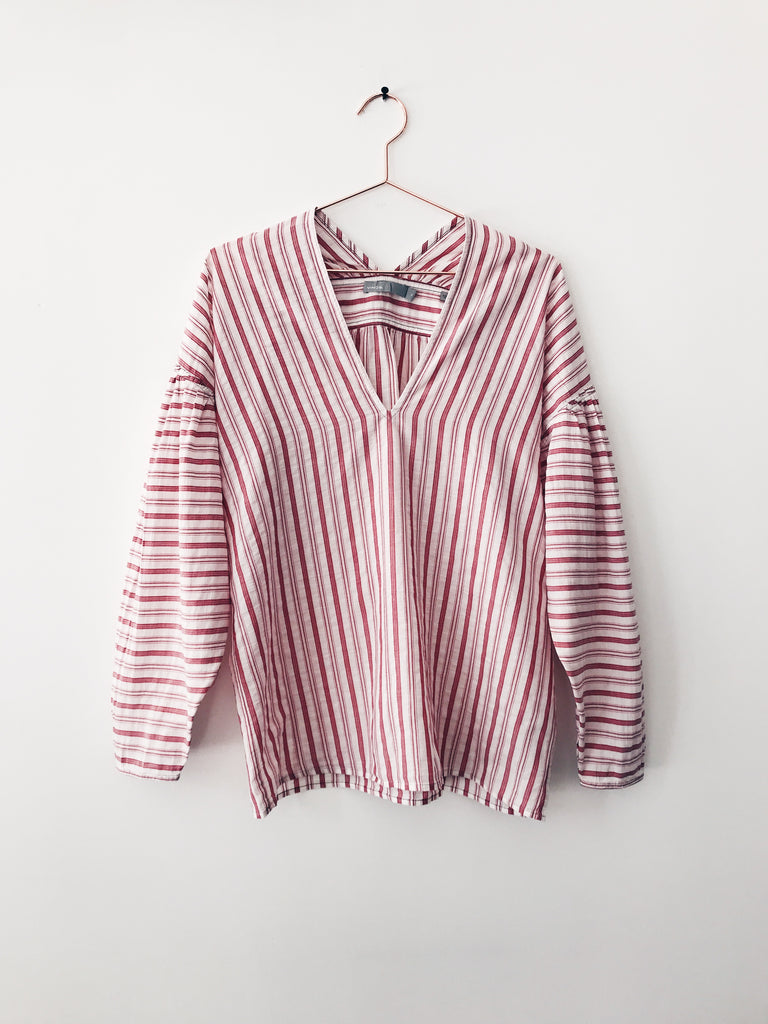 Vince - Variegated Stripe L/S Pullover - Therapy & EG Page