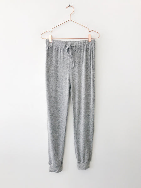 Emerson Grace - Extra Soft Sweat Pant, Heather Grey - Therapy & EG Page