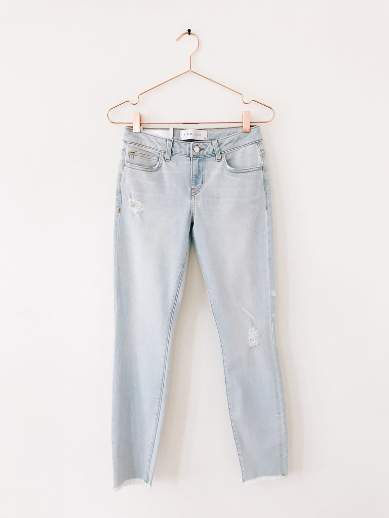 IRO - Denim Skinny, Snow Bleached