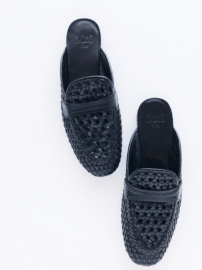 Swildens - Sultan Woven Leather Mocassins - Therapy & EG Page