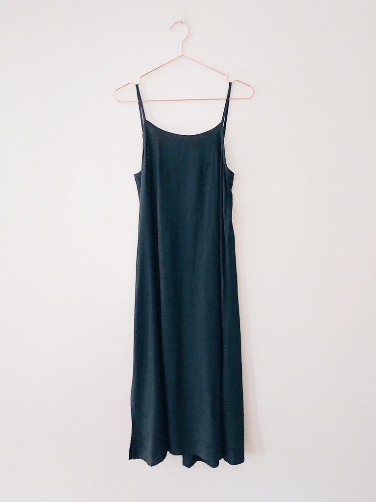 Laissez Faire - Darcey Low Back Maxi Dress, Lake - Therapy & EG Page