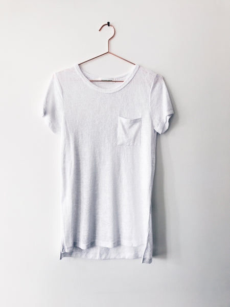 Emerson Grace - S/S T W PKT White - Therapy & EG Page