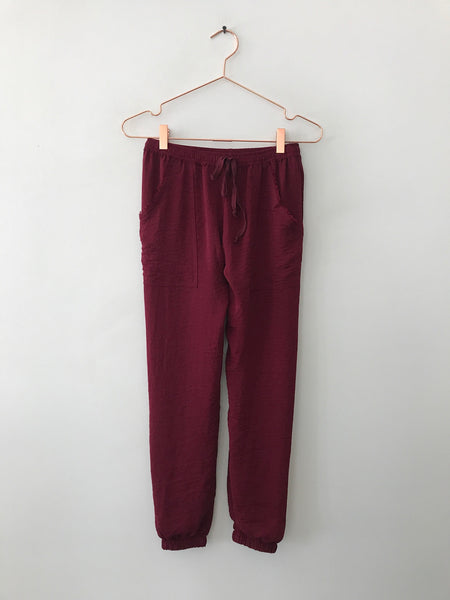Emerson Grace - Basic Jogger Pant, Red - Therapy & EG Page