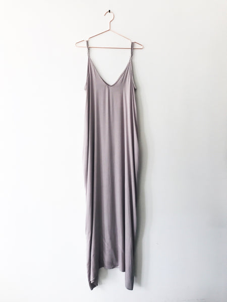 Laissez Faire - Rowan Maxi Dress with Pockets, Blush - Therapy & EG Page