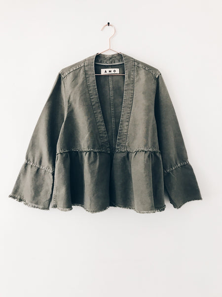 Amo Denim - Flounce Jacket - Therapy & EG Page