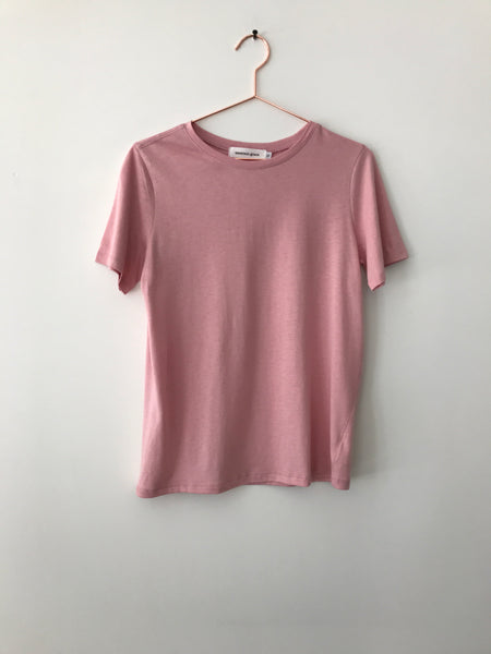 Emerson Grace - Classic Short Sleeve Tee, Pink - Therapy & EG Page