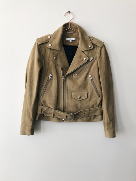 IRO - Guape Suede Moto Jacket - Therapy & EG Page