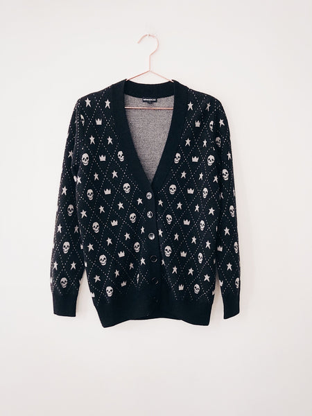 Minnie Rose - Merino Wool Skull Cardi - Therapy & EG Page