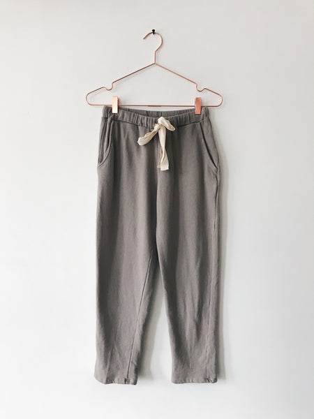 Emerson Grace - French Terry Sweat Pant, Taupe