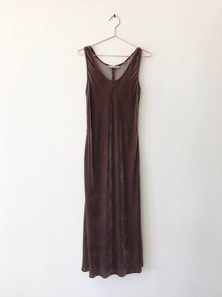VINCE - Velvet Tank Dress - Therapy & EG Page
