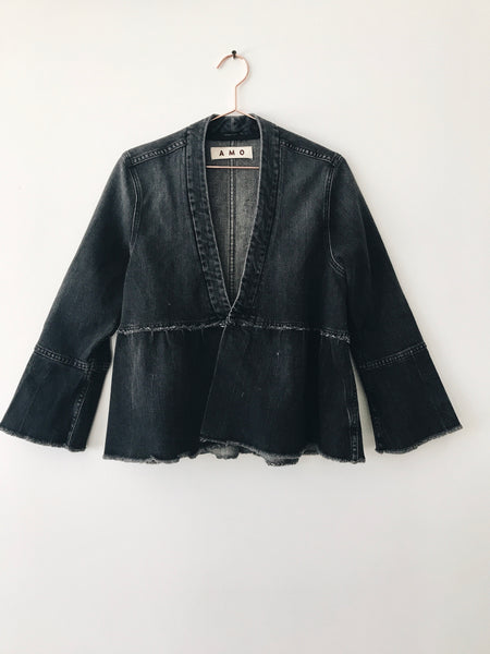 Amo Denim - Paloma Flounce Jacket - Therapy & EG Page