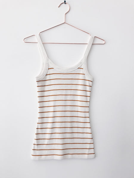 Vince - Chalk Stripe Scoop Neck Cami - Therapy & EG Page