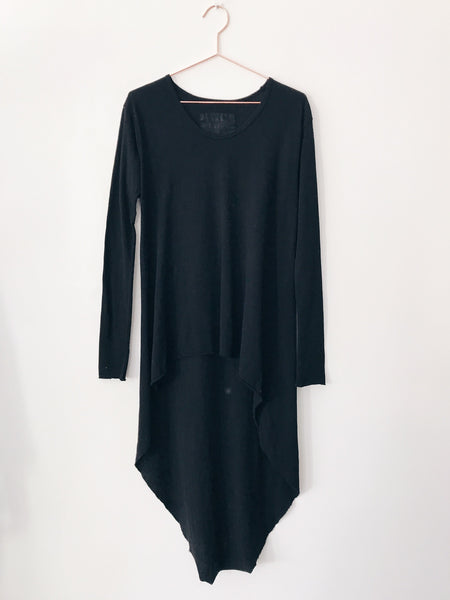 Tee Lab By Frank and Eileen - Long Sleeve Caftan , Blackout