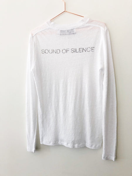 IRO - Open Long Sleeve Sound of Silence Tee - Therapy & EG Page