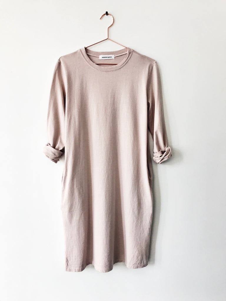 Emerson Grace - Crew Dress Pink - Therapy & EG Page