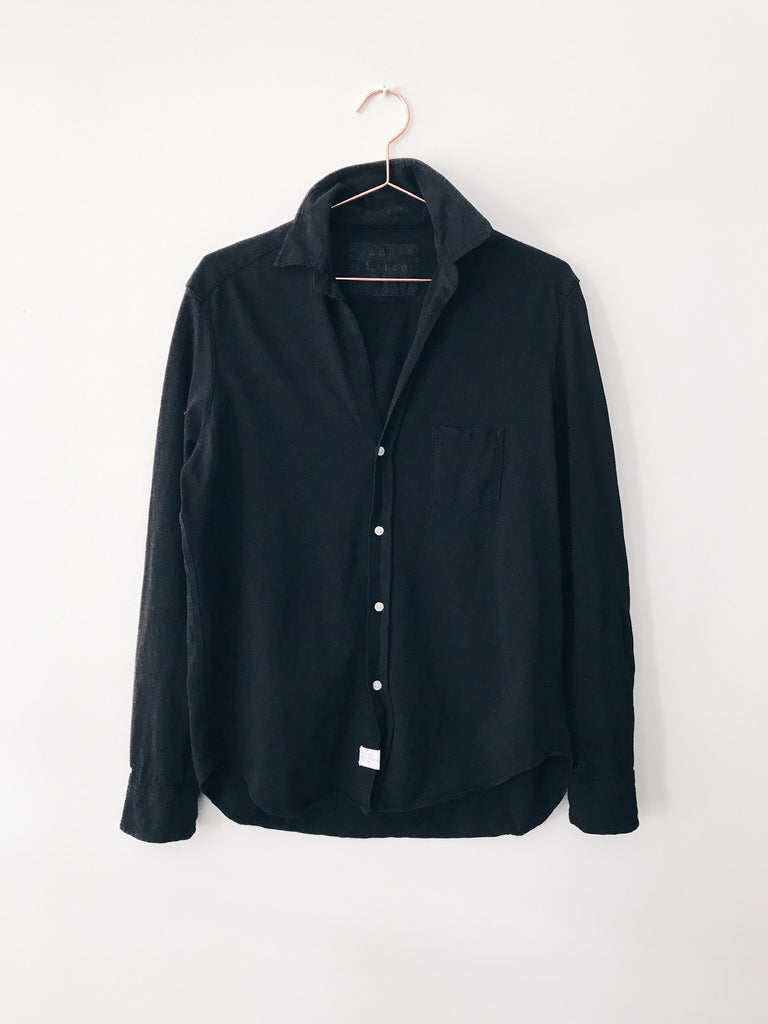 Tee Lab By Frank and Eileen - Eileen Bf Button Down , Blackout