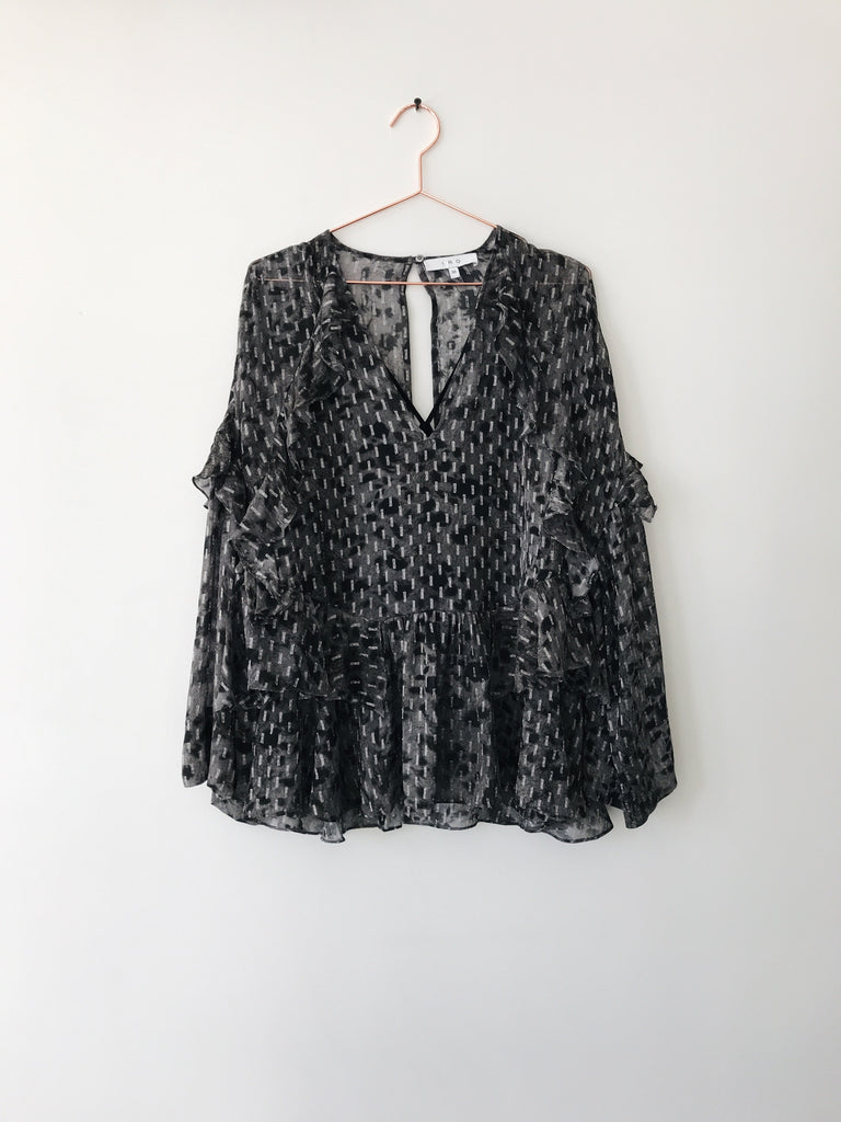 IRO - Carty Ruffle Blouse - Therapy & EG Page
