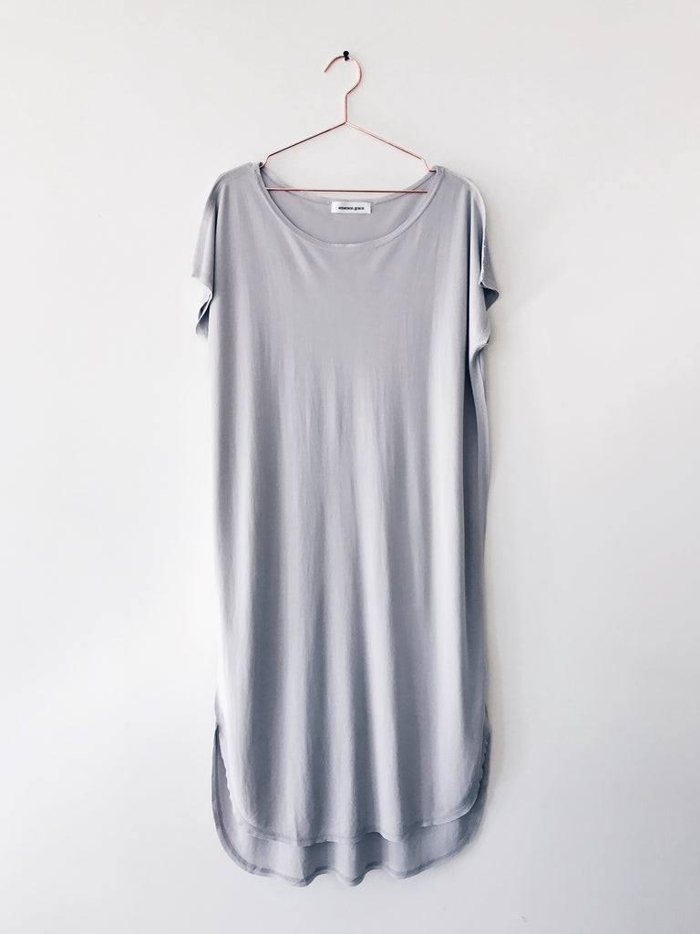 Emerson Grace - Classic Short Sleeve T-shirt Dress - Therapy & EG Page