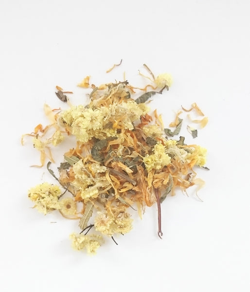 Lemon Calendula Dried Botanical Sachet