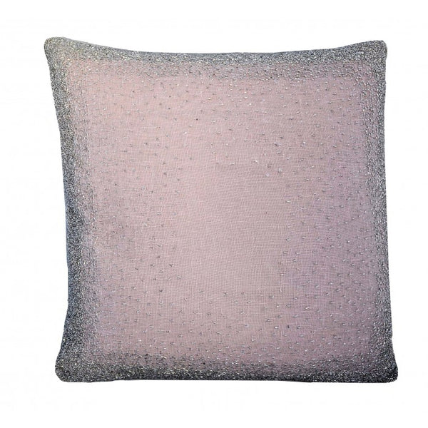 Pink Lurex Pillow