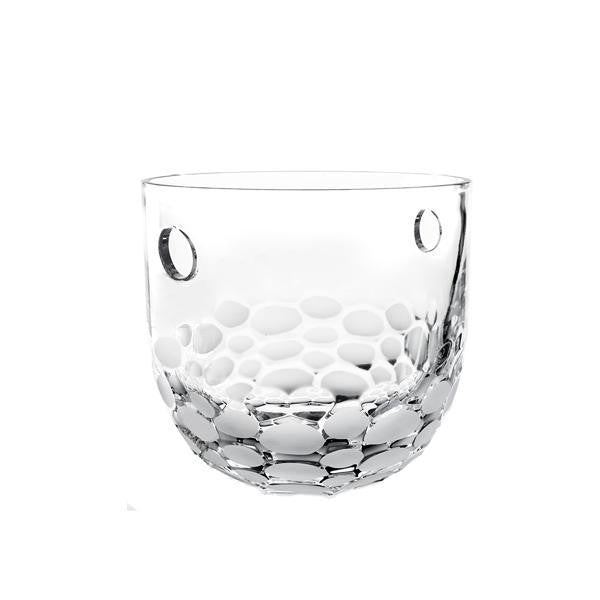 Round Crystal Ice Bucket