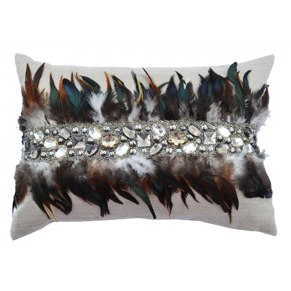 Abby Feather Pillow