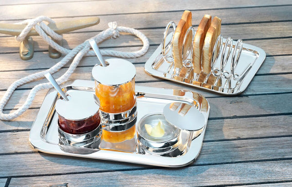 Luxury Silver Breakfast Collection