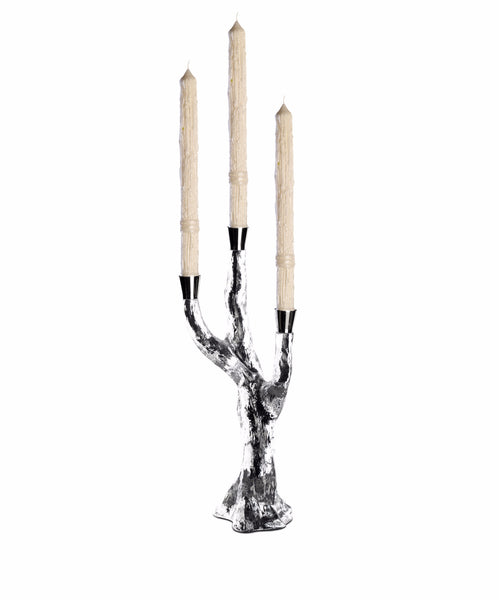 Three Branches Crystal Candlestick