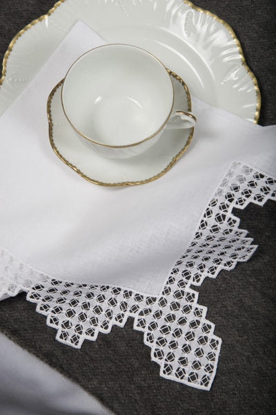 Table Linen Hand Laced: Richelieu