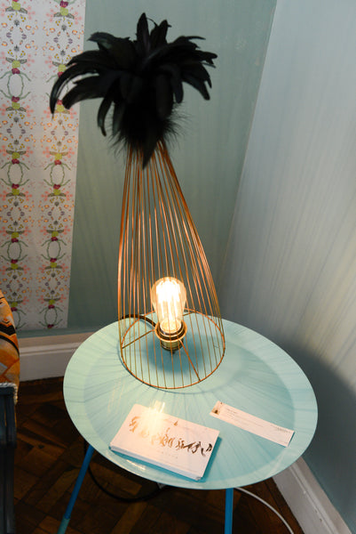 Cage of Light - Feather Lamp