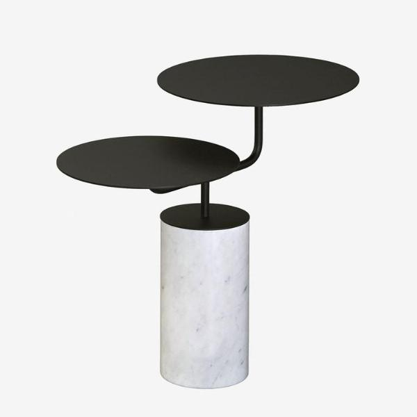 Carrara Marble Side Table
