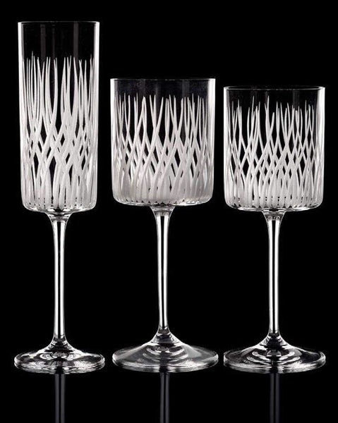 Cylindrical Crystal Stemware