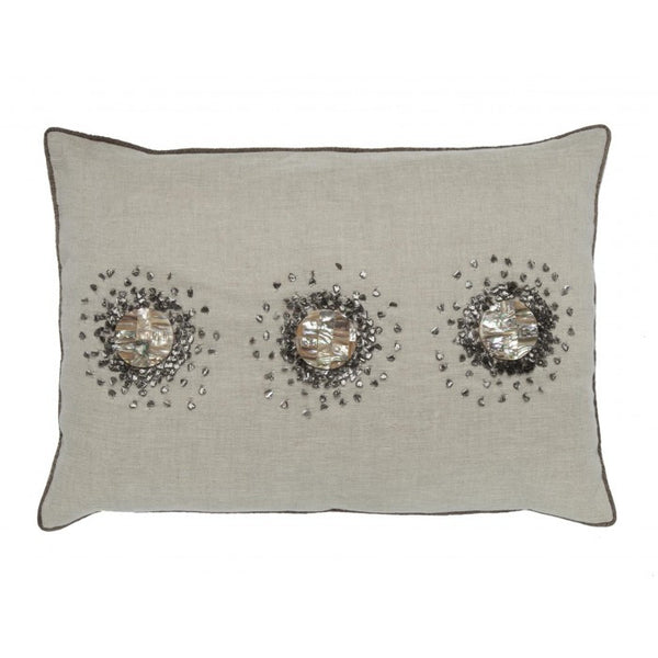Mother of Pearl Stones Pillow