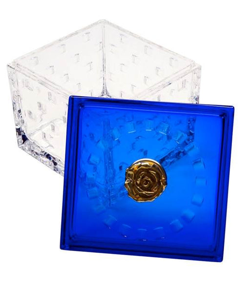 Rose on Crystal Box