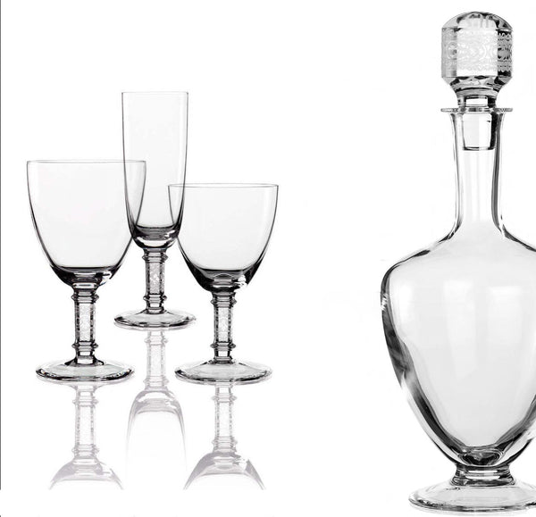 """Plinio 050"" Crystal Stemware Collection"