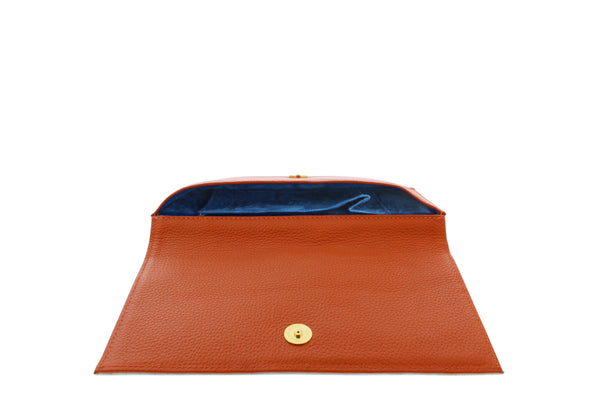 Queen Leather Clutch