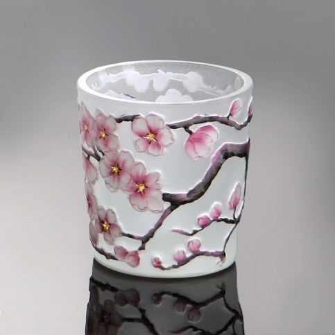 """Sakura"" Crystal Shot Glass"