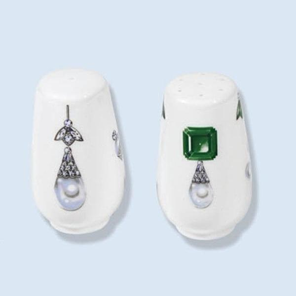 Limoges Porcelain Salt & Pepper Set