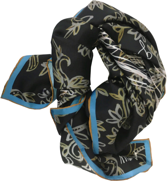 """The Garden"" Silk Scarf"