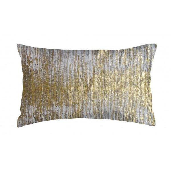 Gold Thread Pillow