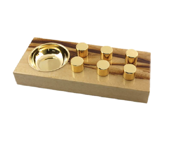 Exotic wood Classic Ashtrays
