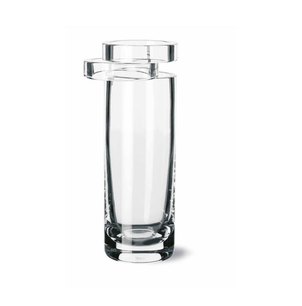Cylindrical Crystal Vase