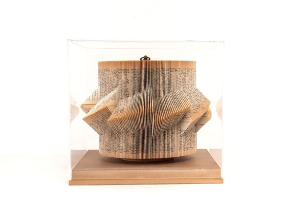 Sail - Boxed Book Sculpture